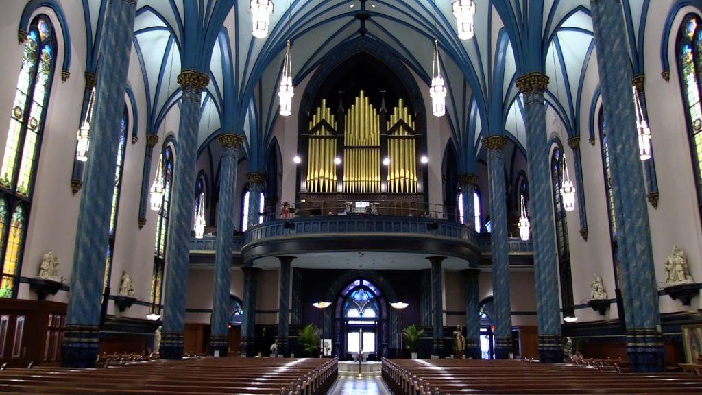 Saint Xavier Church - Cincinnati Weddings